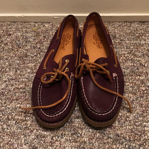 Sperry Women's Gold Cup Boat Shoes Size Large